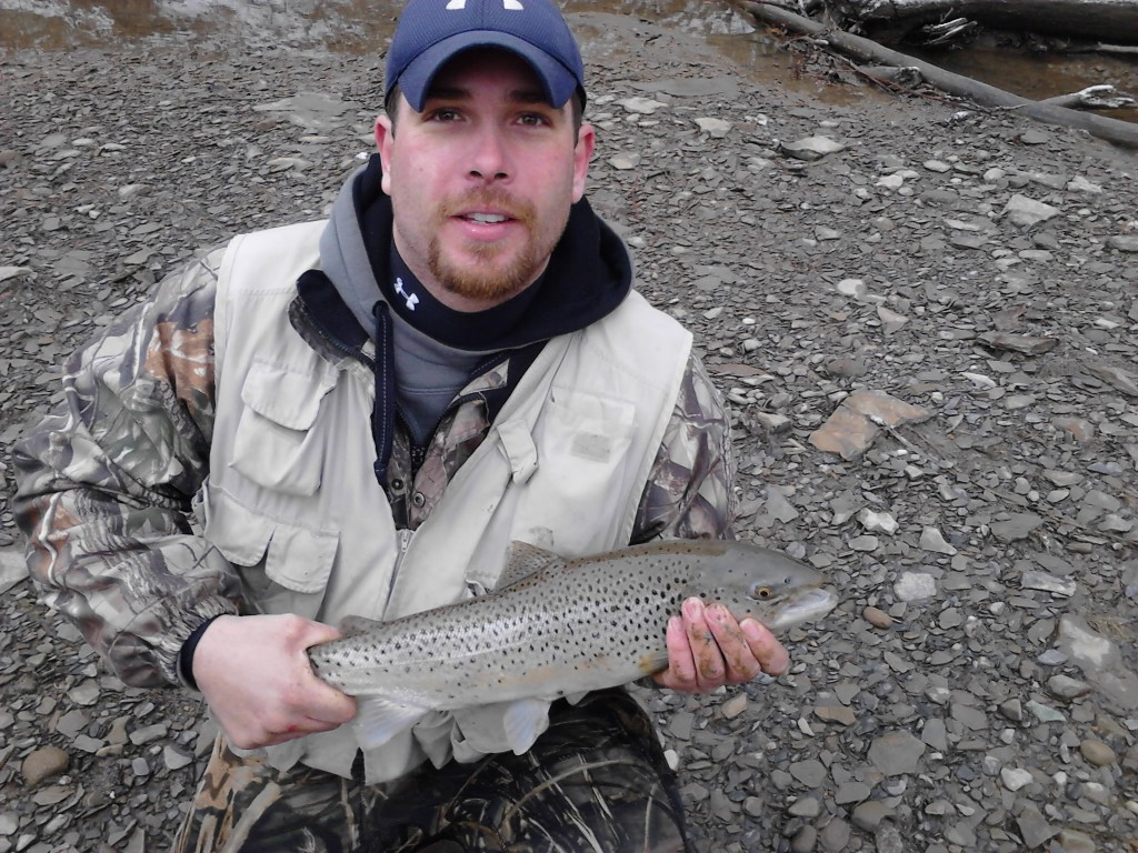 Tom Nock Winner 2013 Bonus Brown Trout Derby